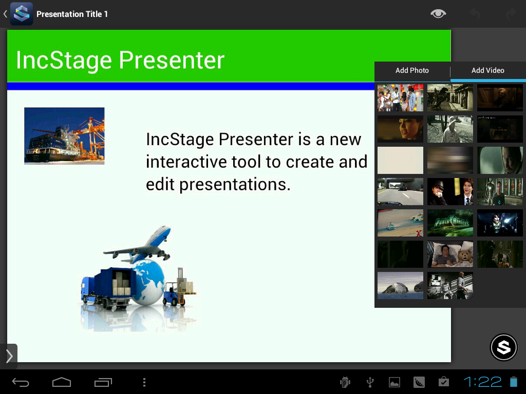 IncStage Presenter (Full)- screenshot