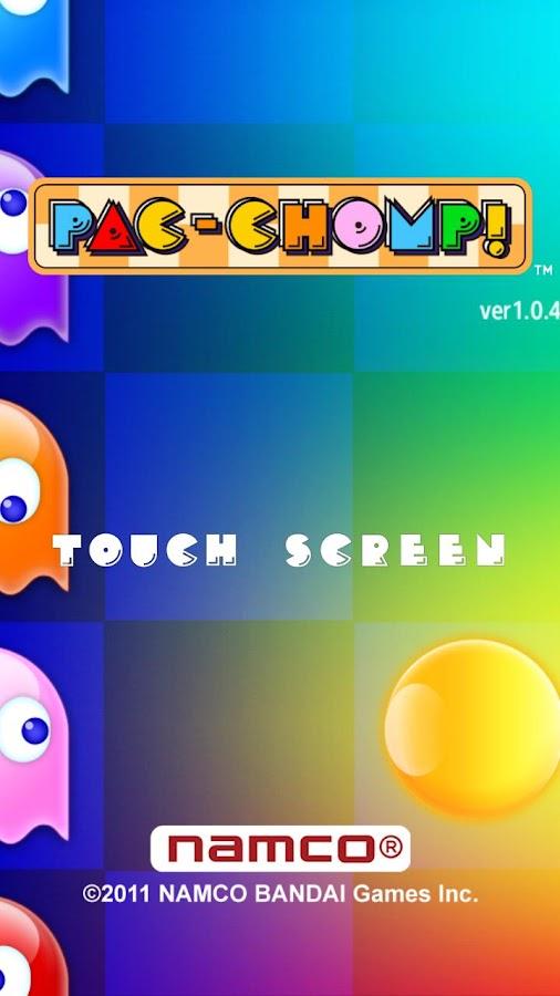PAC-CHOMP! namco - screenshot