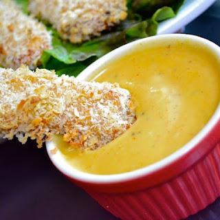 Honey Mustard Chicken Strips.