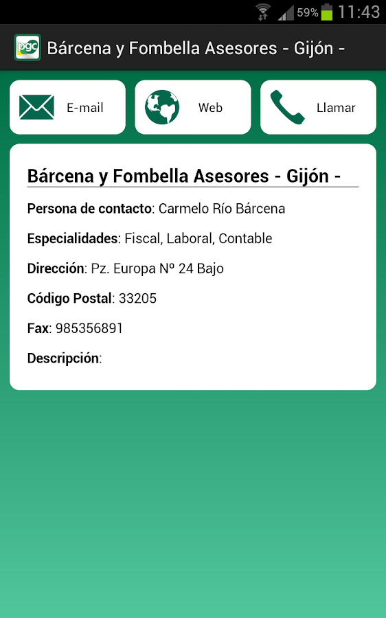 Cuentas Plan General Contable- screenshot