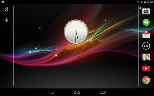 的Xperia時鐘