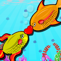 Fun Game-Fish Love Kiss icon