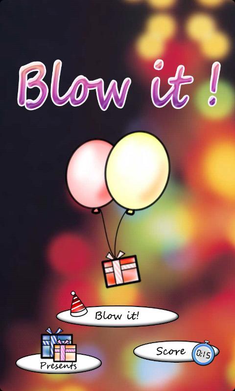 Blow It! Balloon!- screenshot