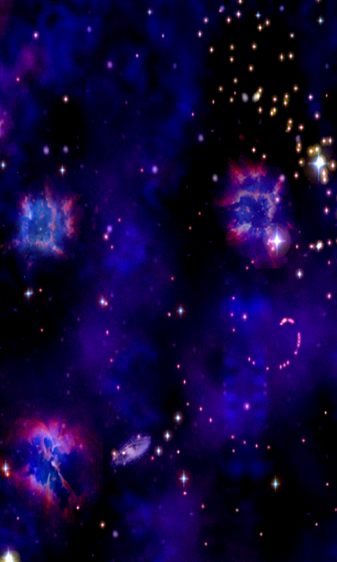 Cosmic Journey -Nebula LiveWP - screenshot