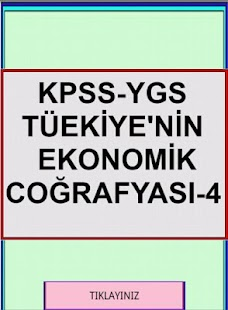 KPSS YGS COĞRAFYA TR EKO COĞ 4 - screenshot thumbnail