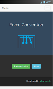 Force Conversion Screenshot 4