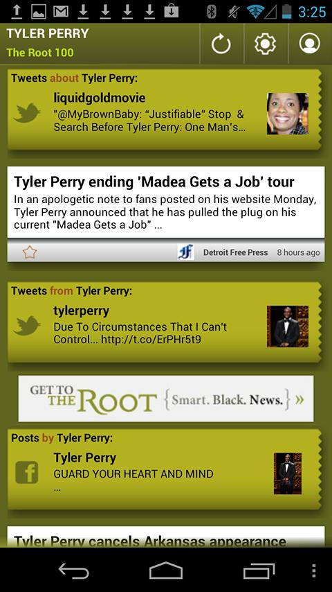 Tyler Perry: The Root 100 - screenshot