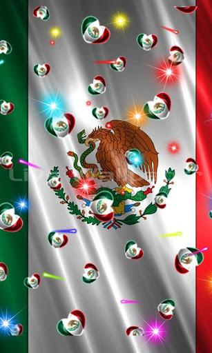 Mexico Flag Heart