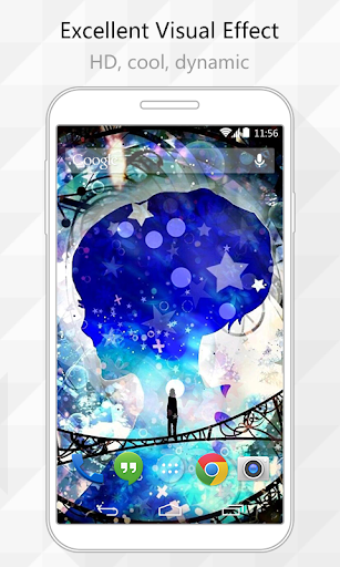 【免費個人化App】Space Travel Live Wallpaper-APP點子