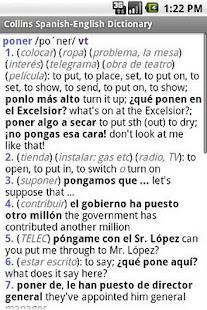 玩書籍App|Collins Spanish Dictionary免費|APP試玩
