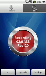 Audio Tweet Recorder - screenshot thumbnail