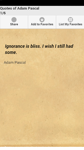 Quotes of Adam Pascal