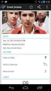 onTour - Concert Finder- screenshot thumbnail