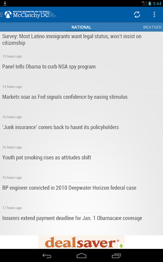 McClatchyDC Nation&World News - screenshot