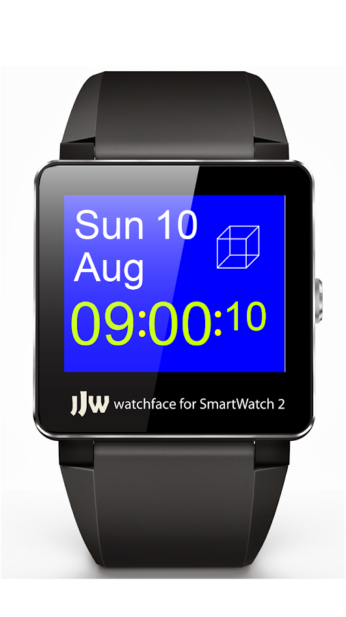 JJW Simplicity Watchface 2 SW2 - screenshot