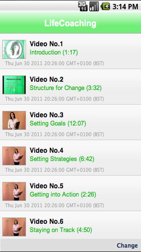 Life Coaching Video Training- screenshot