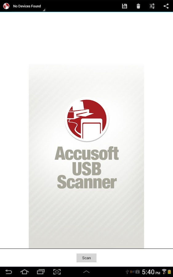 USB Scanner - Trial - screenshot
