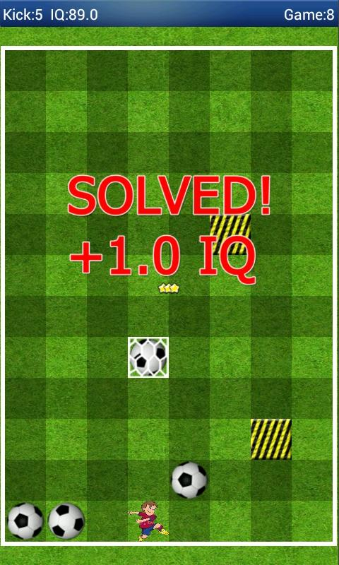Smart Kick - Puzzle IQ Brain - screenshot
