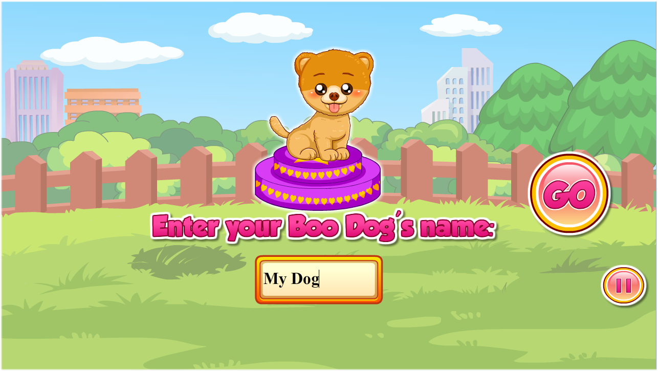 My Sweet Dog - Free Game- screenshot