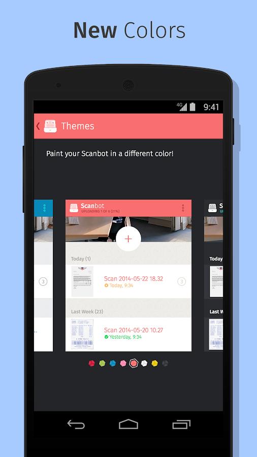 Scanbot - PDF Document Scanner - screenshot