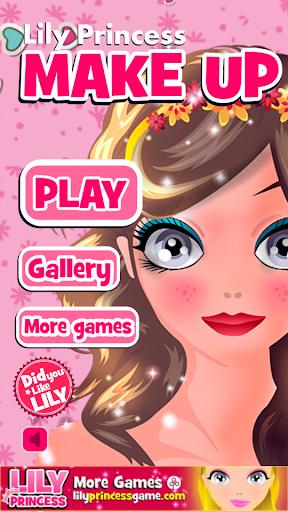 莉莉化妆游戏