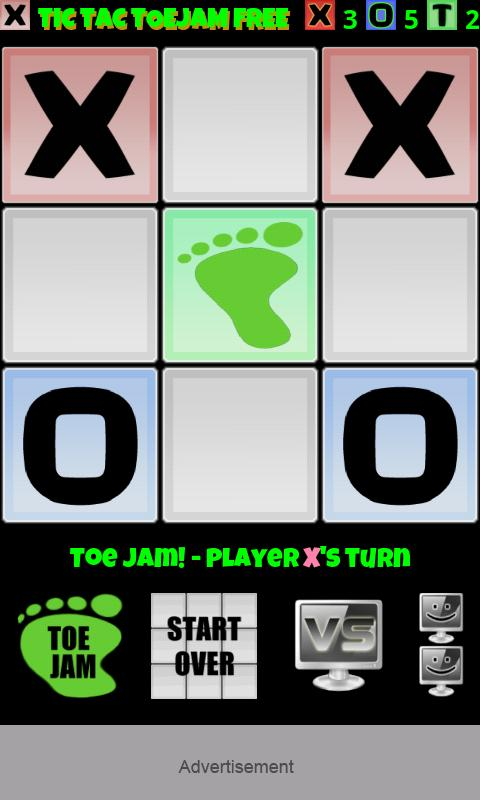 Tic Tac Toe Jam Free - screenshot
