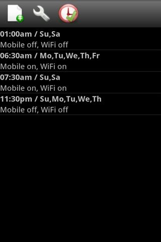 NetSchedule- screenshot