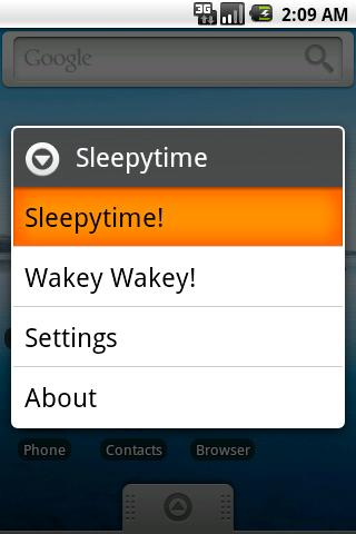 Sleepytime Lite - screenshot
