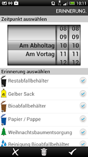 Abfall-Kalender- screenshot thumbnail
