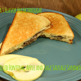 Grilled Fontina, Apple and Sage Sausage Sandwiches!.