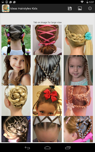 創意髮型兒童