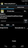 Screenshot of Usb Share - 7 Free [Root]