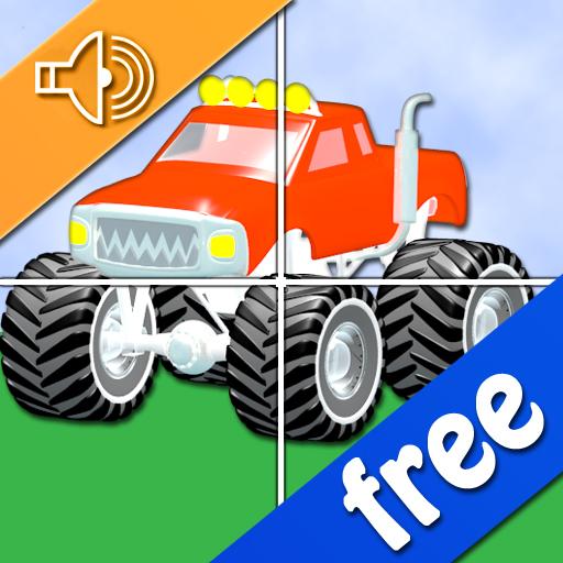 汽車拼圖的孩子 解謎 App LOGO-硬是要APP