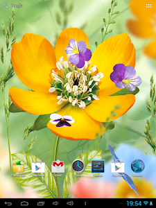 3D Flowers Live Wallpaper v1.0.1