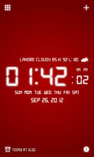 Digital Alarm Clock Pro - screenshot thumbnail