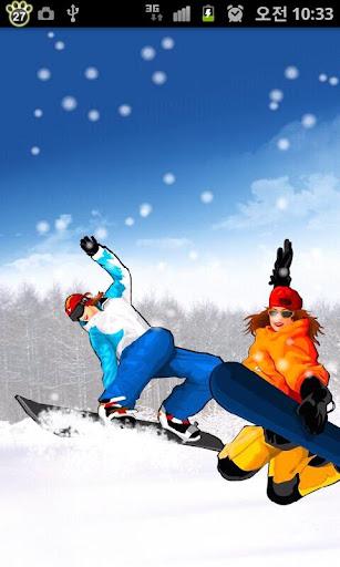 [토스] 스키 테마 라이브 배경화면