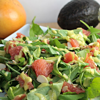 Arugula & Grapefruit Salad.