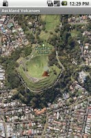 Screenshot of Auckland Volcanoes Free