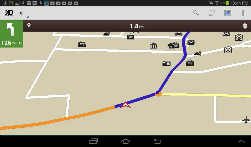 St Lucia GPS Map - screenshot