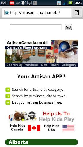 Artisans Crafts of Canada