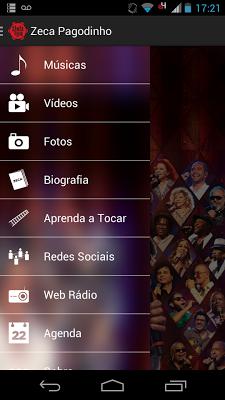 SambaBook Zeca Pagodinho - screenshot