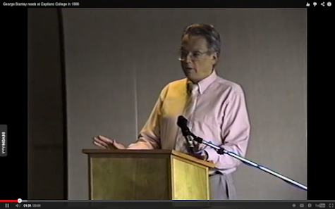 VIDEO / George Stanley reads at Capilano College in 1996