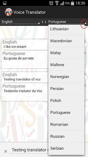 Tradutor de Voz