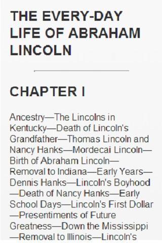 玩書籍App|LIFE OF ABRAHAM LINCOLN免費|APP試玩