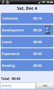Time Tracker screenshot 1