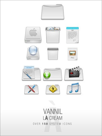 VannillA_Cream_Icon_Set_by_djnjpendragon