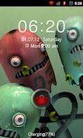 Screenshot of Go Locker Red Four Key Theme