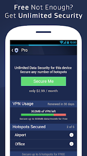 AVG Secure WiFi Assistant - screenshot thumbnail
