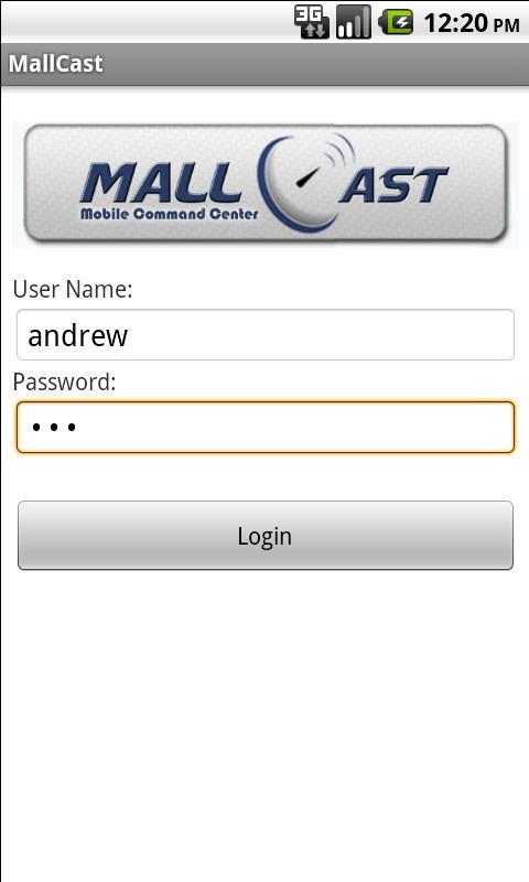 MallCast- screenshot