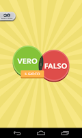Screenshot of Vero o falso - il gioco